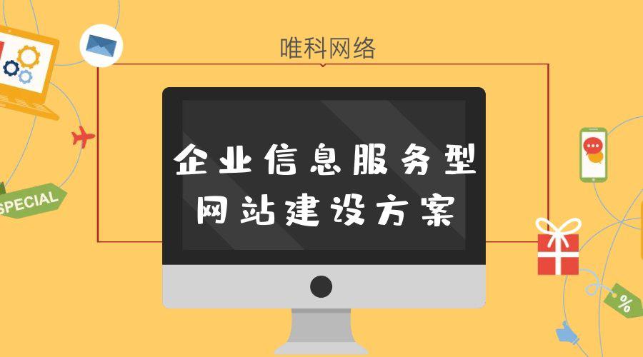 企业信息服务型网站建设方案