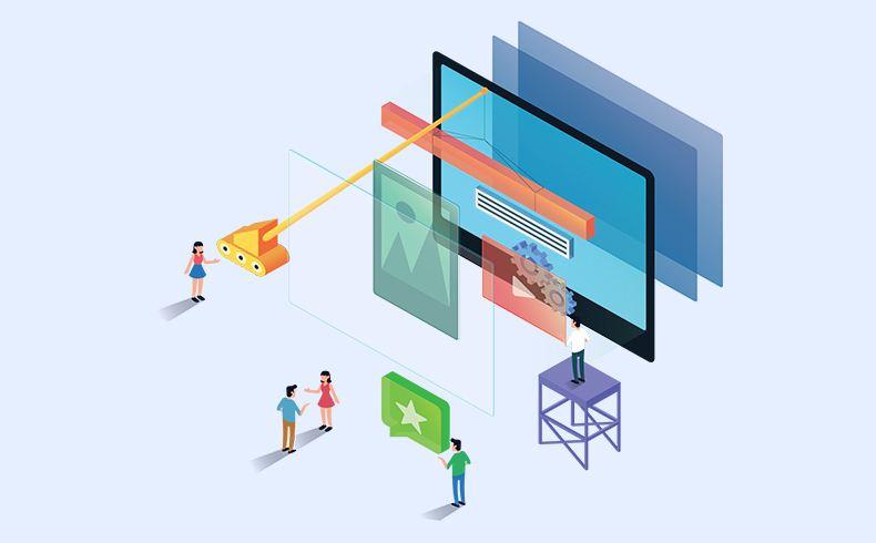 唯科网络带您了解几大类型网站建设的布局